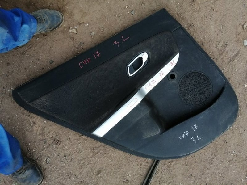 Обшивка двери Kia Ceed 2 JD G4FG 2014 задняя левая (б/у)