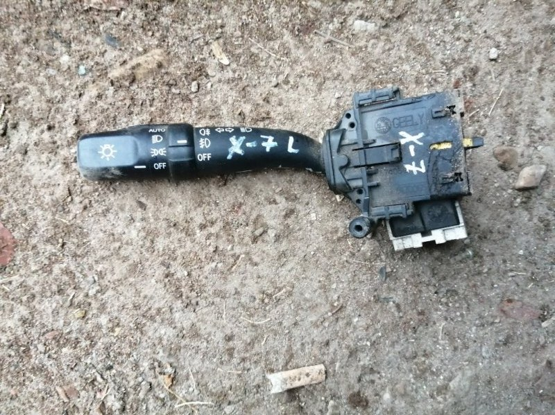 Переключатель поворотов Geely Emgrand X7 X7 JLD-4G20 2013 левый (б/у)