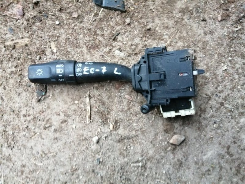 Переключатель поворотов Geely Emgrand Ec7 FE1 JL4G15 2012 левый (б/у)