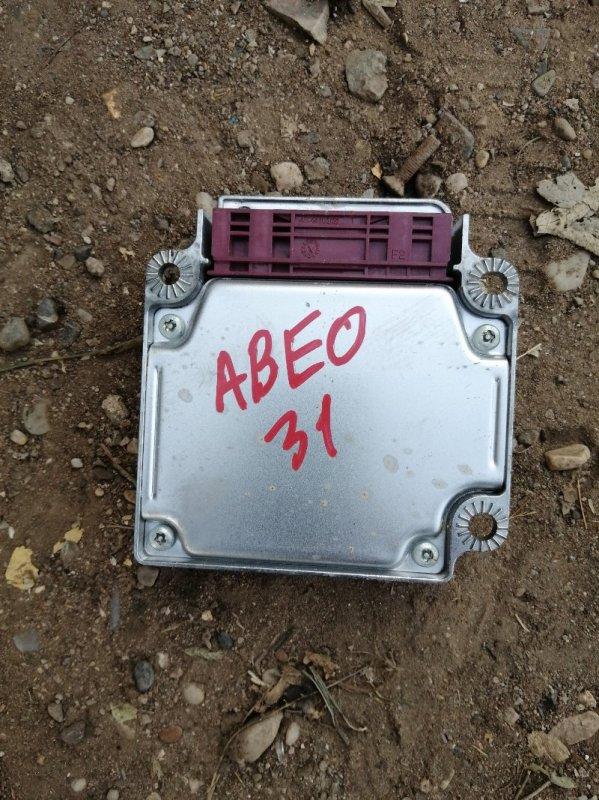 Блок управления аирбаг Chevrolet Aveo T250 F14D4 2010 (б/у)