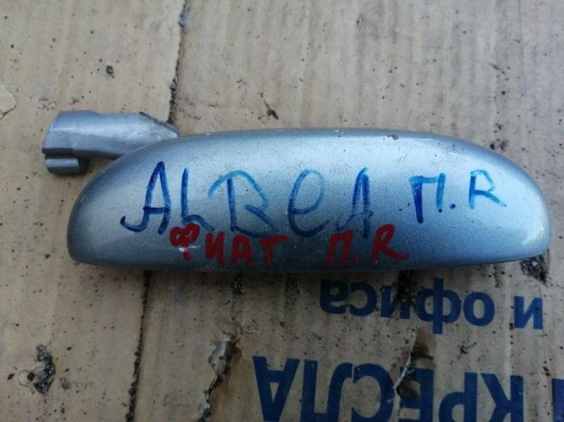 Ручка двери внешняя Fiat Albea 2010 передняя правая (б/у)