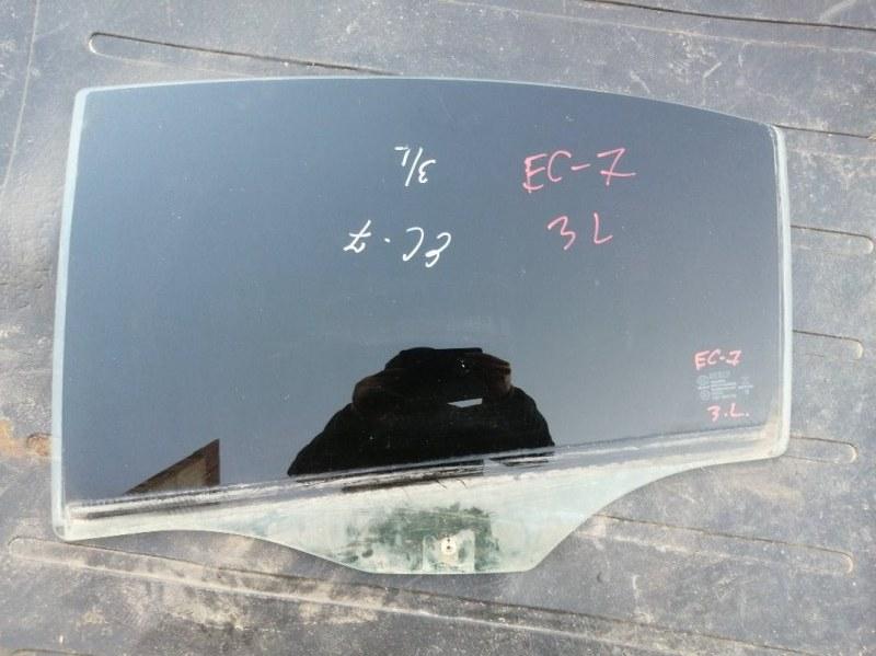 Стекло Geely Emgrand Ec7 FE1 JL4G15 2013 заднее левое (б/у)