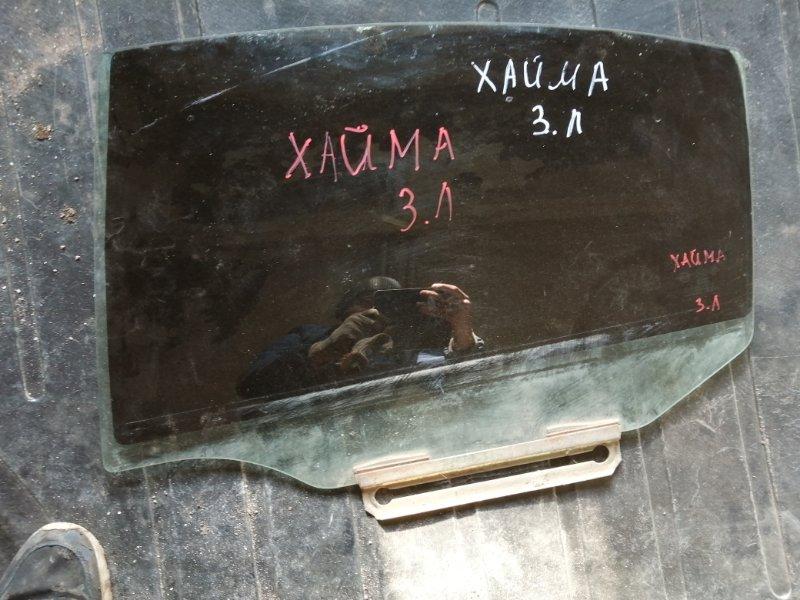 Стекло Haima 3 HM483Q-A 2011 заднее левое (б/у)
