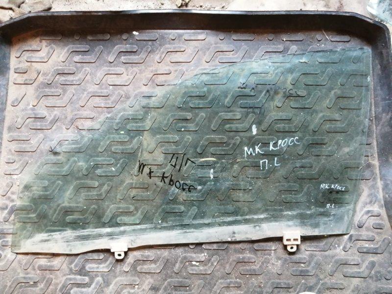 Стекло Geely Mk Cross 5A-FE 2011 переднее левое (б/у)