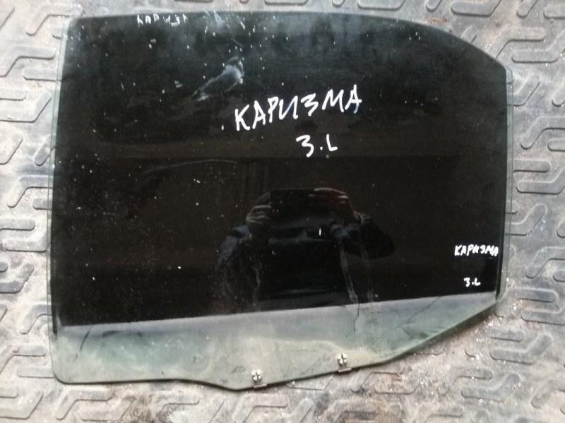 Стекло Mitsubishi Carisma DA2A 4G92 2002 заднее левое (б/у)