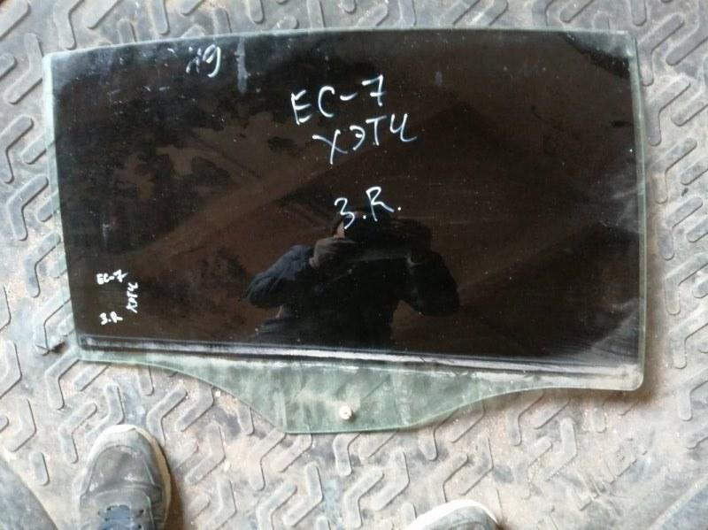 Стекло Geely Emgrand Ec7 RV 2012 заднее правое (б/у)