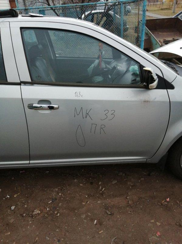 Дверь Geely Mk 5A-FE 2009 передняя правая (б/у)