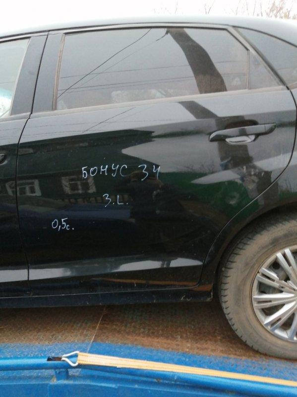 Дверь Chery Very A13 SQR477F 2012 задняя левая (б/у)