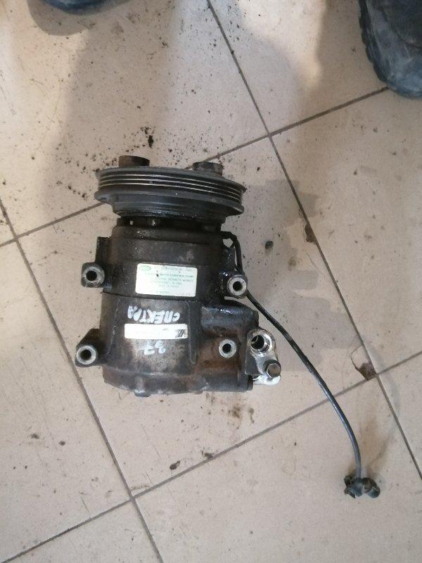 Компрессор кондиционера Kia Spectra SD S6D 2008 (б/у)