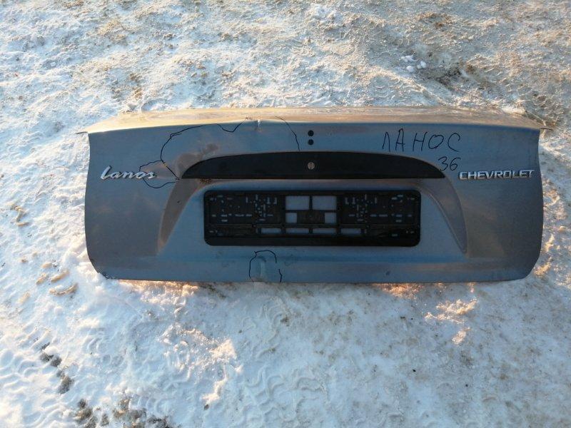 Крышка багажника Chevrolet Lanos T100 A15SMS 2010 (б/у)