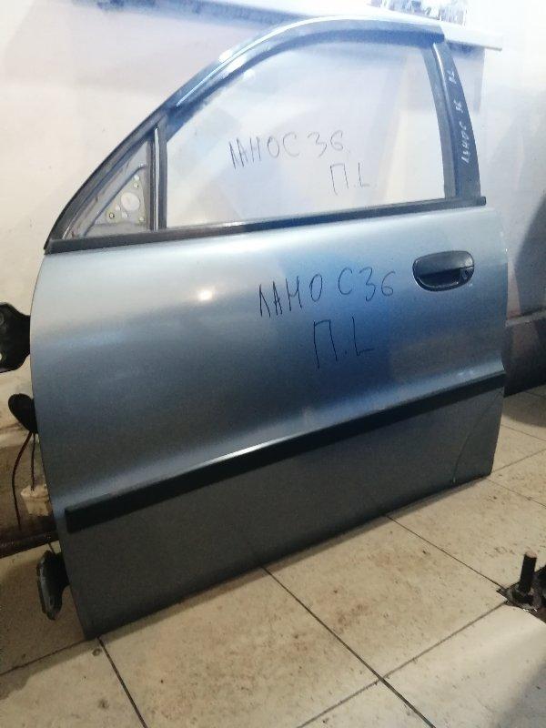 Дверь Chevrolet Lanos T100 A15SMS 2010 передняя левая (б/у)