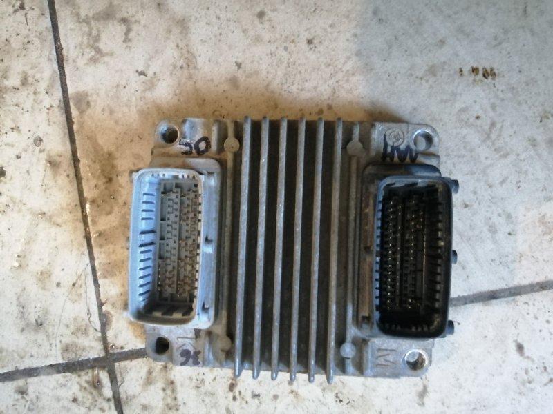 Блок управления двигателем Chevrolet Lanos T100 A15SMS 2010 (б/у)