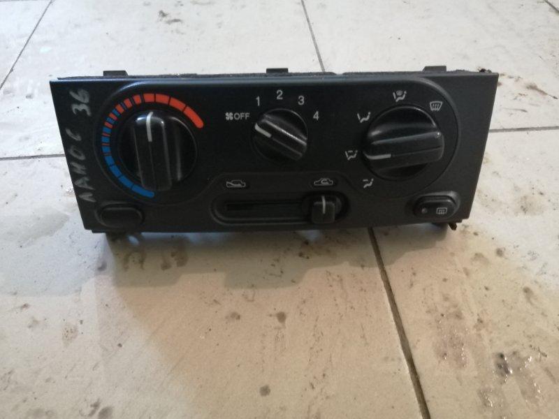 Блок управления отопителем Chevrolet Lanos T100 A15SMS 2010 (б/у)