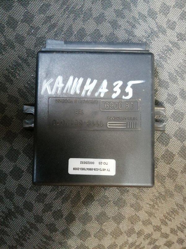 Блок комфорта Lada Kalina 1118 11194 2008 (б/у)