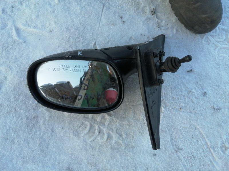 Зеркало Chevrolet Lanos T100 A15SMS 2010 переднее правое (б/у)