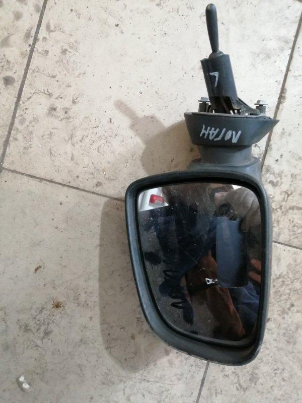 Зеркало Renault Logan LS0G K7MF710 2011 переднее левое (б/у)