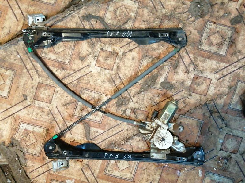 Стеклоподъемник Ford Focus 1 DFW EYDC 2004 передний правый (б/у)
