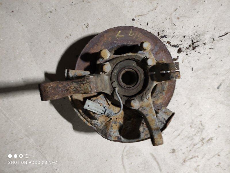 Кулак поворотный Chery Crosseastar B14 SQR484F 2010 передний левый (б/у)