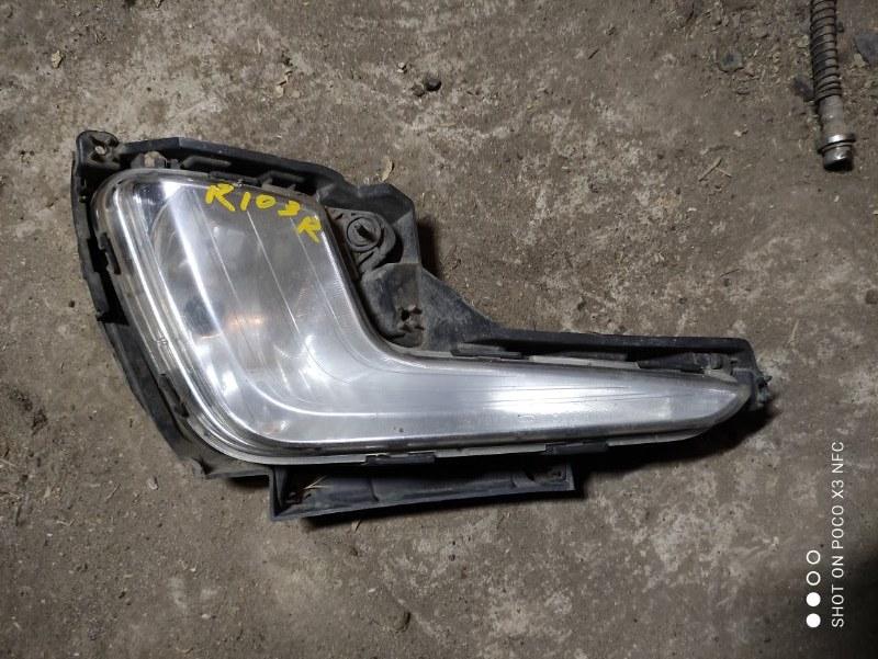 Фара противотуманная Kia Rio 3 QB G4FC 2013 передняя правая (б/у)