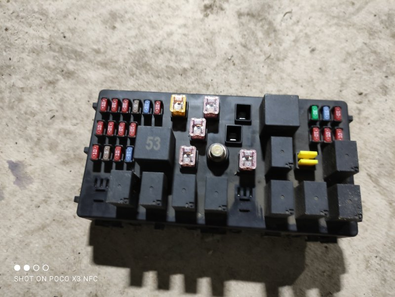Блок предохранителей Chery Tiggo T11 SQR484F 2013 (б/у)