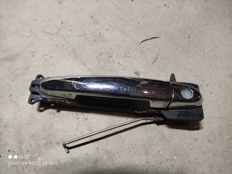 Ручка двери внешняя Lifan Smily 320 LF479Q3-B 2012 передняя левая (б/у)