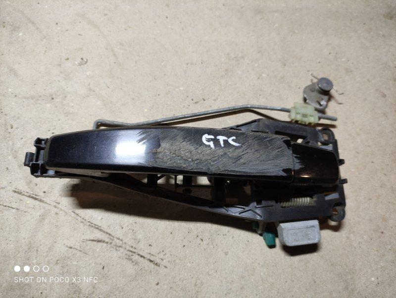 Ручка двери внешняя Opel Astra H Gtc L08 Z16XER 2010 передняя правая (б/у)