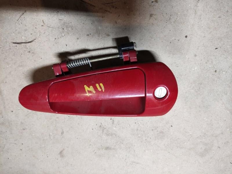 Ручка двери внешняя Chery M11 SQR481F 2013 передняя левая (б/у)
