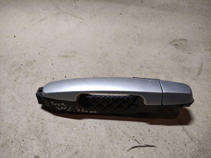 Ручка двери внешняя Chery Tiggo T11 SQR484F 2013 задняя левая (б/у)