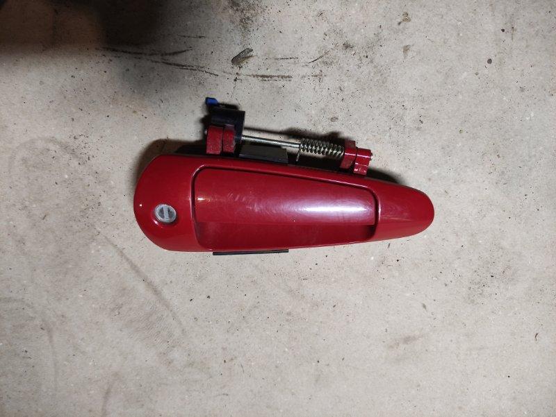 Ручка двери внешняя Chery M11 SQR481F 2013 передняя правая (б/у)