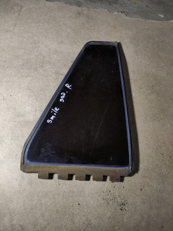 Стекло двери (форточка) Lifan Smily 320 LF479Q3-B 2012 заднее правое (б/у)
