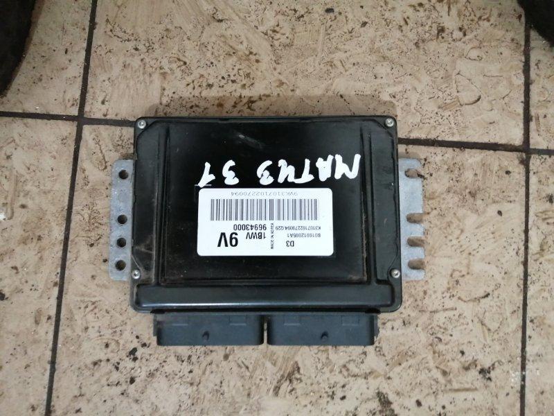 Блок управления двигателем Daewoo Matiz KLYA F8CV 2010 (б/у)