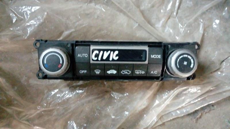 Блок управления климат-контролем Honda Civic 4D R18A2 2011 (б/у)