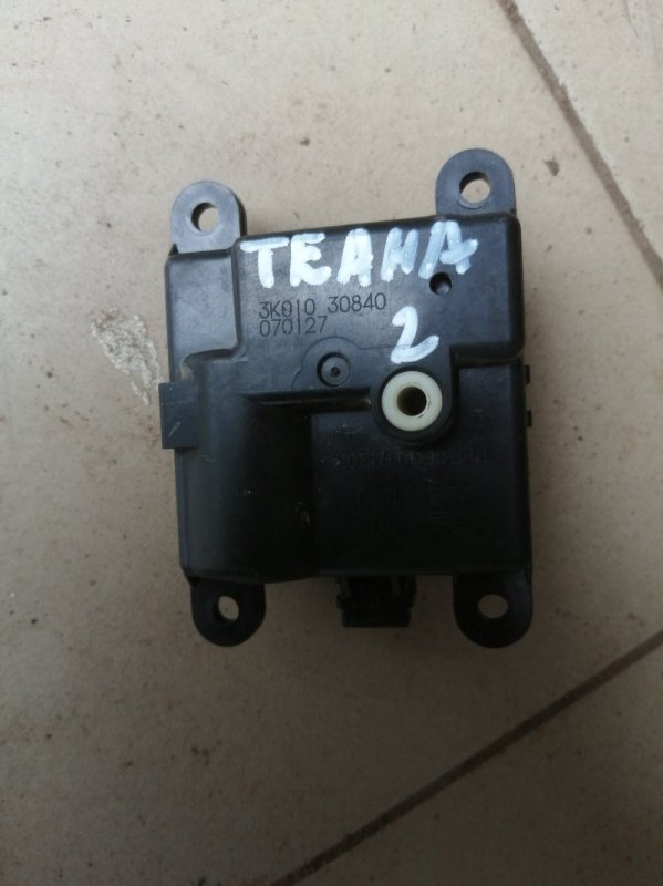Моторчик заслонки печки Nissan Teana J31 VQ35DE 2006 (б/у)