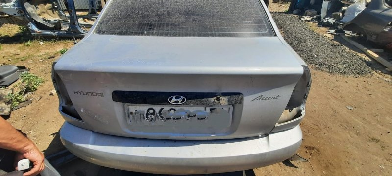 Крышка багажника Hyundai Accent LC G4EC 2008 (б/у)