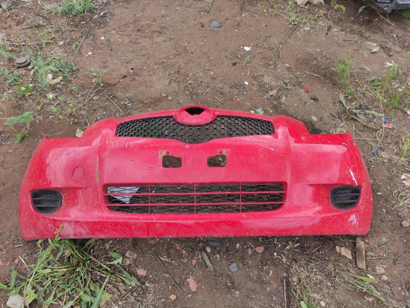 Бампер Toyota Yaris SCP90 2SZFE 2007 передний (б/у)