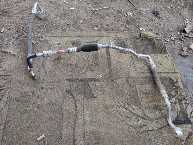 Трубка кондиционера Skoda Fabia 6Y5 AUB 2002 (б/у)