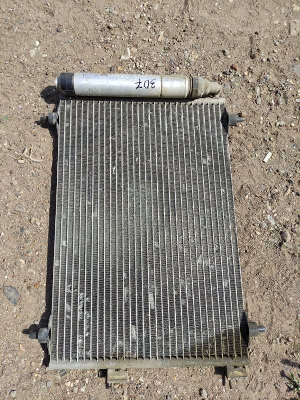 Радиатор кондиционера Peugeot 307 3A TU5JP4 2001 (б/у)