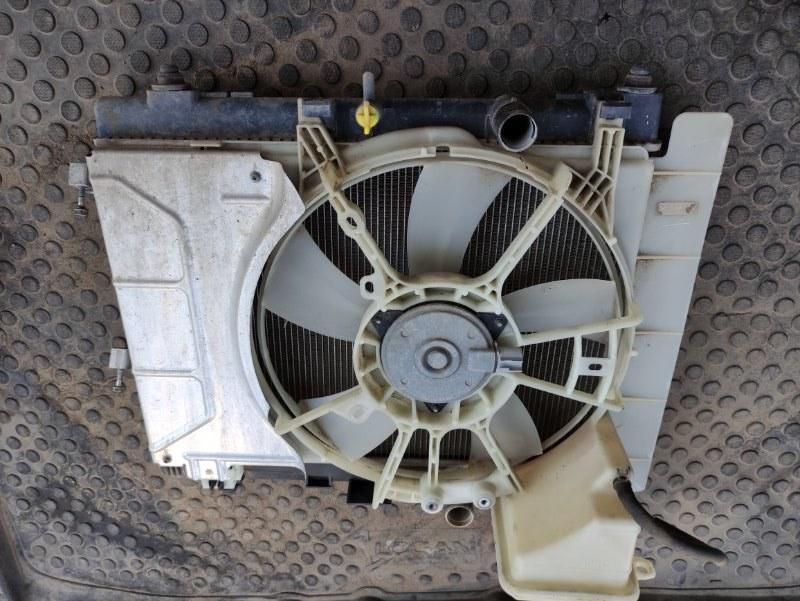 Кассета радиаторов в сборе Toyota Yaris SCP90 2SZFE 2007 (б/у)