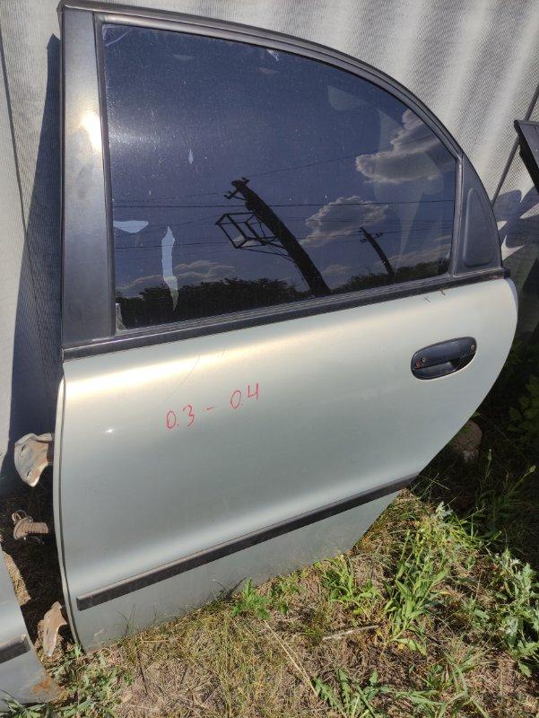 Дверь Заз Шанс МЕМЗ-307 2008 задняя левая (б/у)