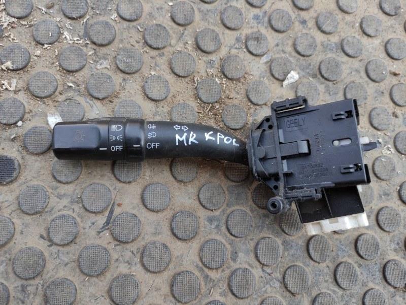 Переключатель поворотов Geely Mk Cross MR479QA 2013 (б/у)