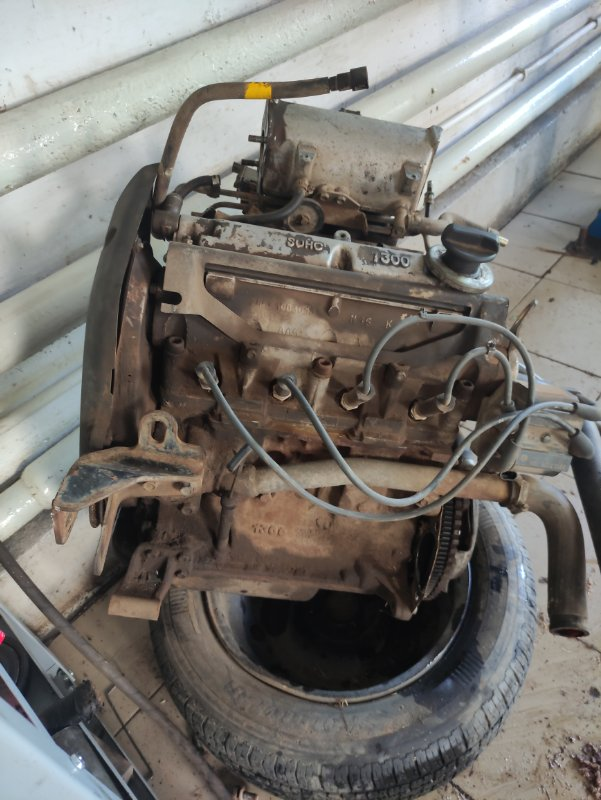 Двигатель Заз Шанс МЕМЗ-307 2008 (б/у)
