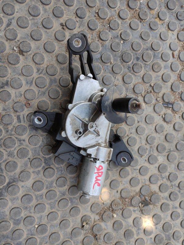 Мотор дворников Toyota Yaris SCP90 2SZFE 2007 задний (б/у)