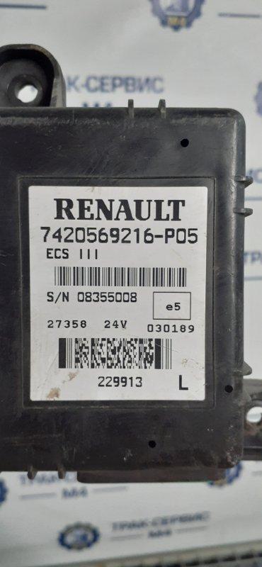 Блок управления ecs Renault Premium Dxi D11 450 2007 (б/у)