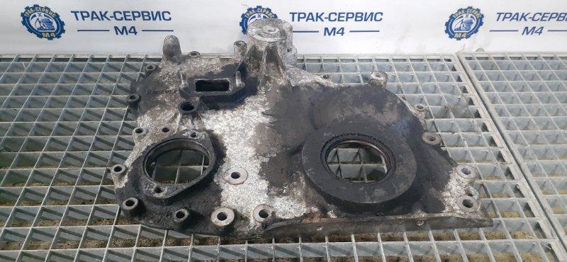 Крышка плиты двигателя Renault Magnum E-Tech 440 MACK 2004 передняя (б/у)