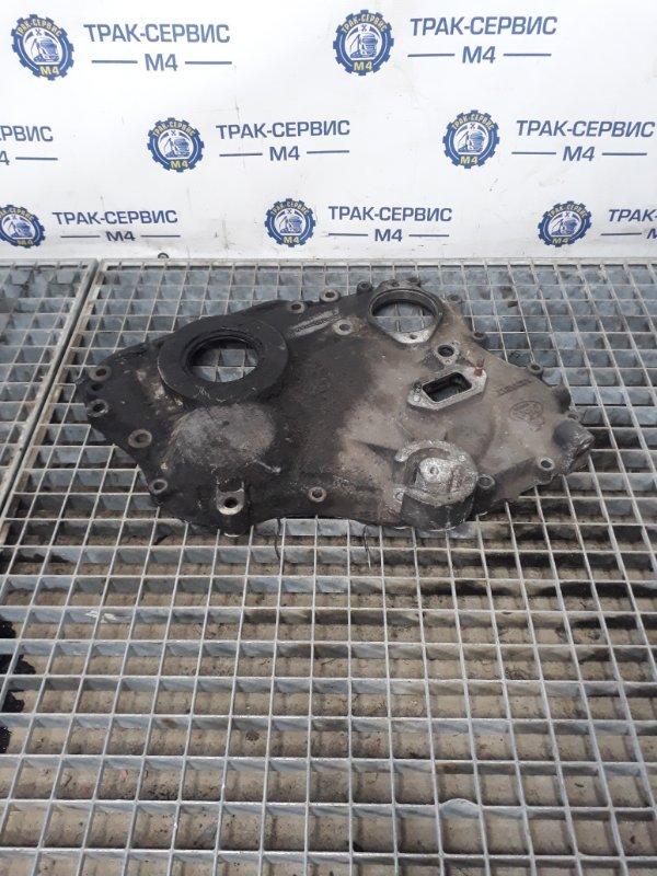 Крышка плиты двигателя Renault Magnum передняя (б/у)