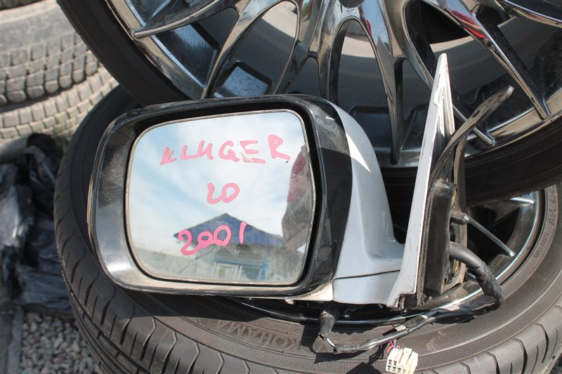 Зеркало Toyota Kluger ACU20 переднее левое (б/у)