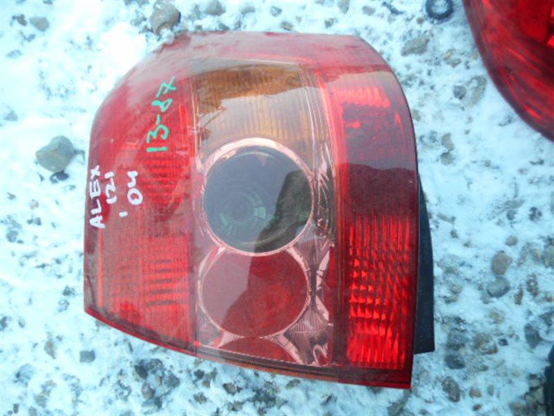 Стоп-сигнал Toyota Allex ZZE120 задний левый (б/у)
