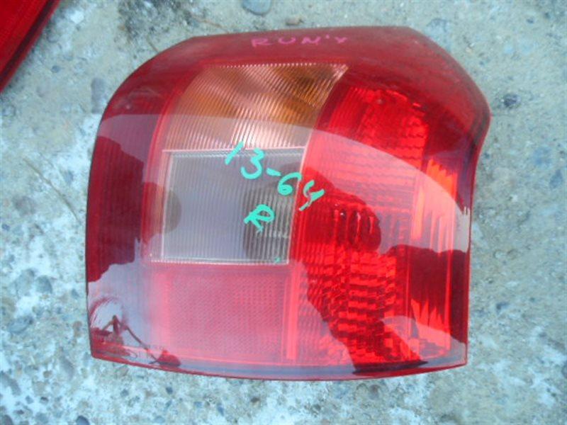 Стоп-сигнал Toyota Runx NZE121 задний правый (б/у)