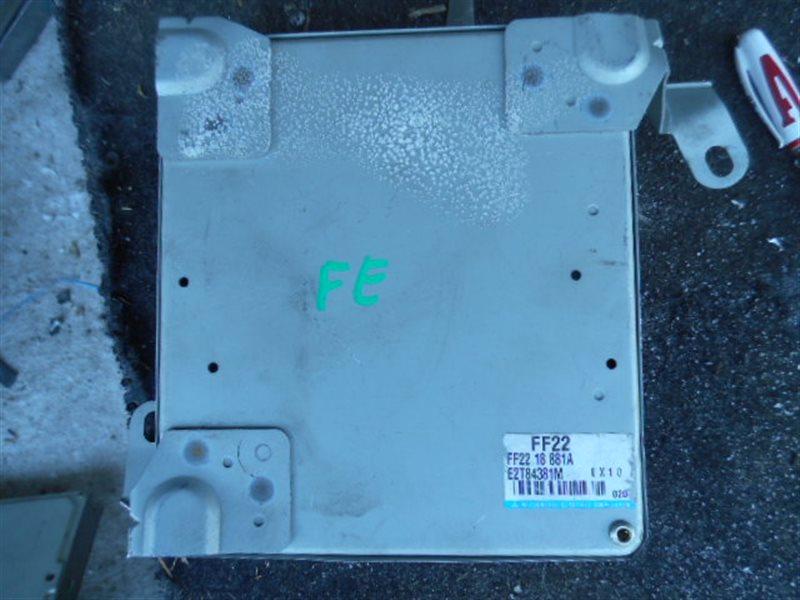Блок efi Mazda Bongo Friendee SGEW FE (б/у)
