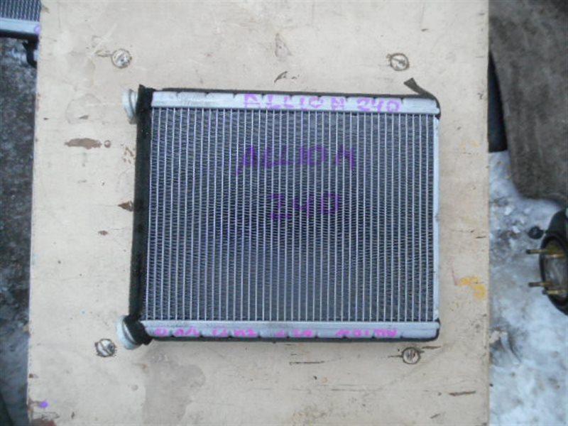Радиатор печки Toyota Premio NZT240 (б/у)